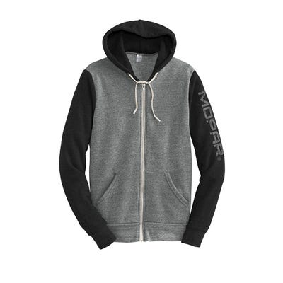 Colorblock Eco Fleece FZ Hoodie