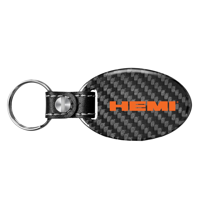 HEMI® Carbon Fiber Key Chain