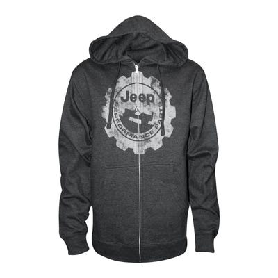 Performance Parts Men's Full Zip Hoodie