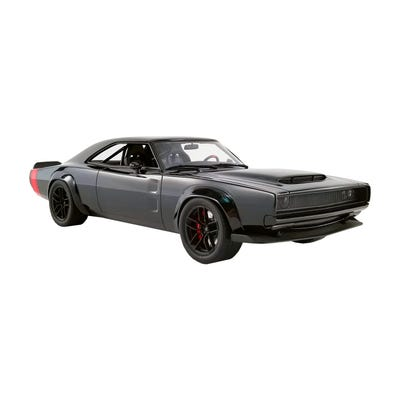 1968 Black Super Charger 1:18 Resin Model