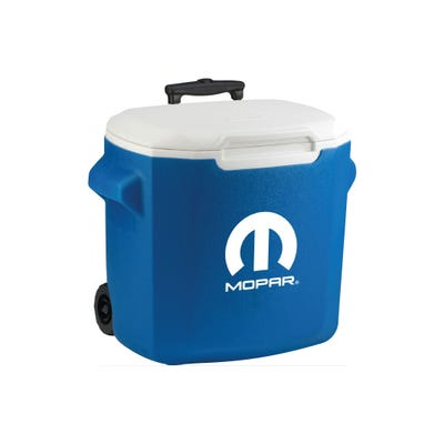 28 Quart (40 Can) Wheeled Coleman Cooler