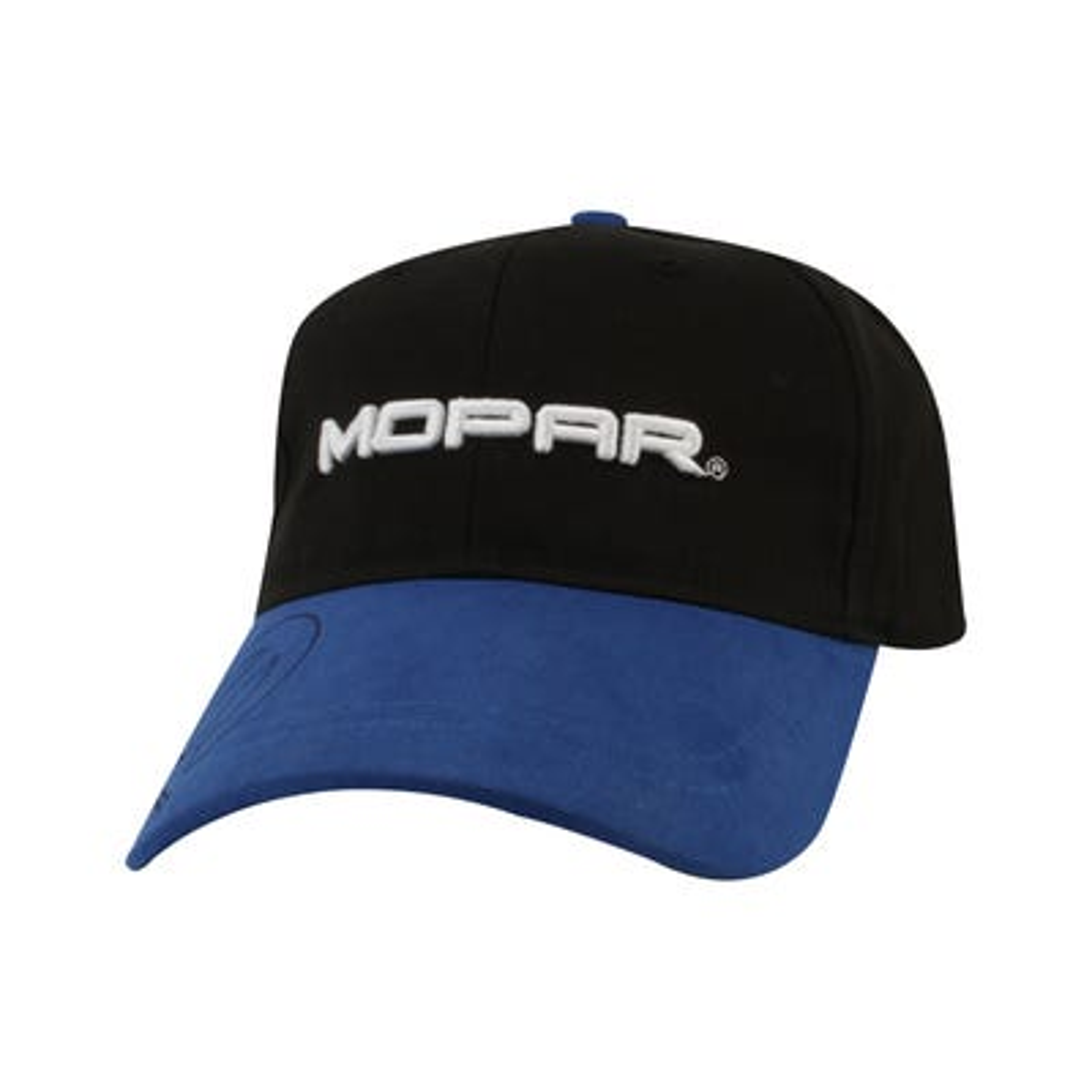 Black/Blue Logo Word Cap