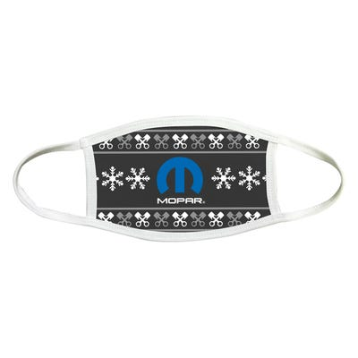 Holiday 2-Ply Sublimated Face Mask