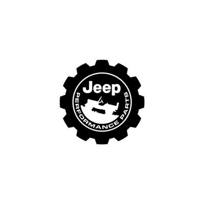 "Jeep® Performance Parts 3"" Square Decal"