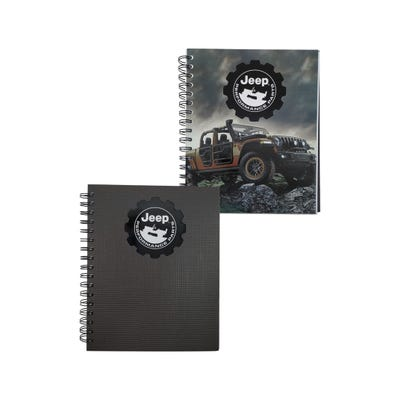 Jeep® Performance Parts Diecut Journal