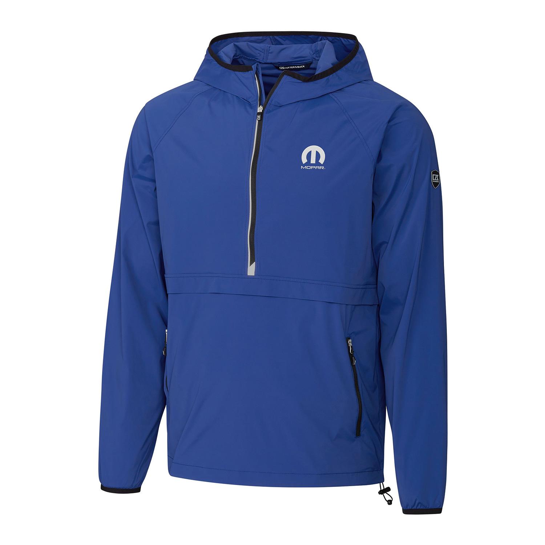 Men's Half-Zip Jacket with Hood