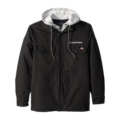 Men's Dickies Hooded Duck Quilted Shirt Jacket