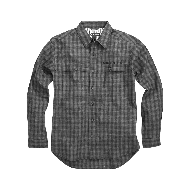 Men's Dri Duck Poplin Plaid Shirt