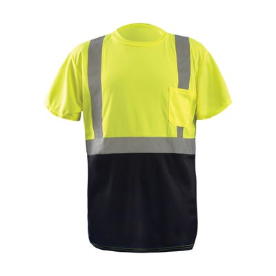 Men's Short Sleeve Safety T-shirt
