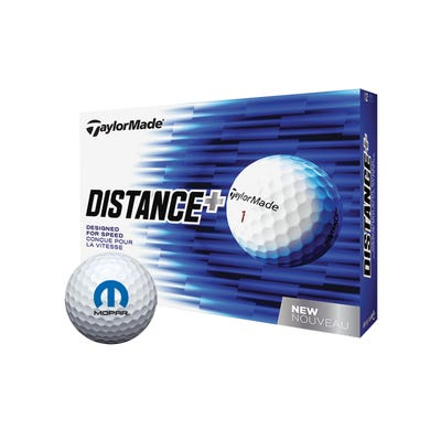 TaylorMade (R) Distance Plus Golf Balls, 12 per bo