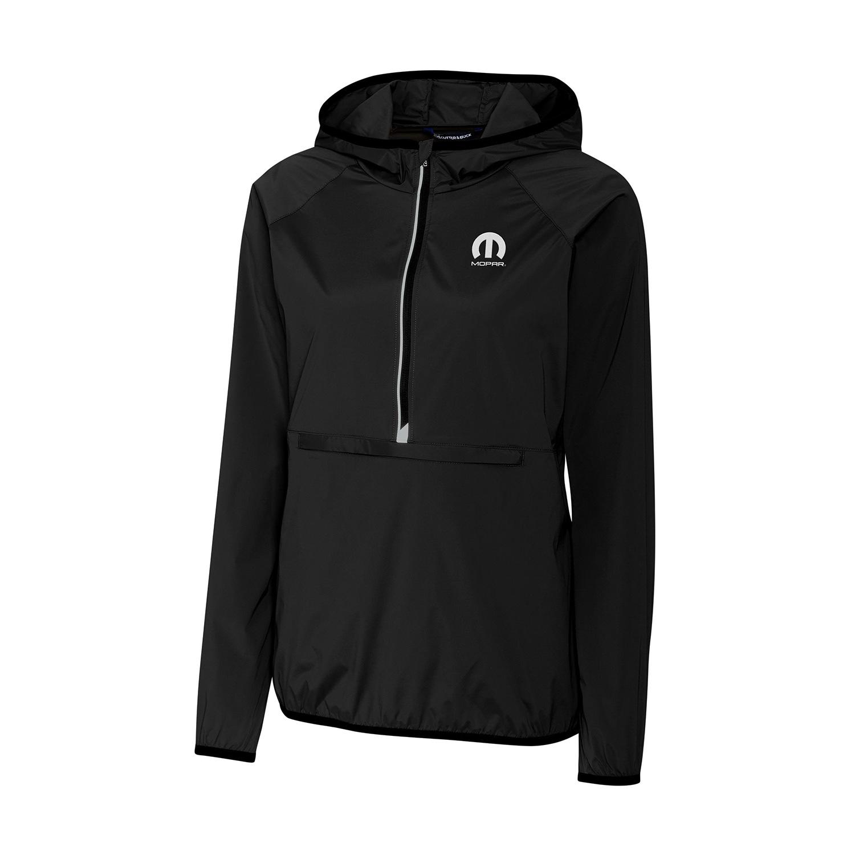 Women's Half-Zip Jacket with Hood