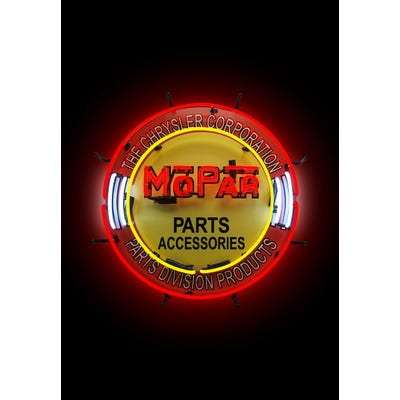 Parts and Accessories Vintage Circle Neon Sign